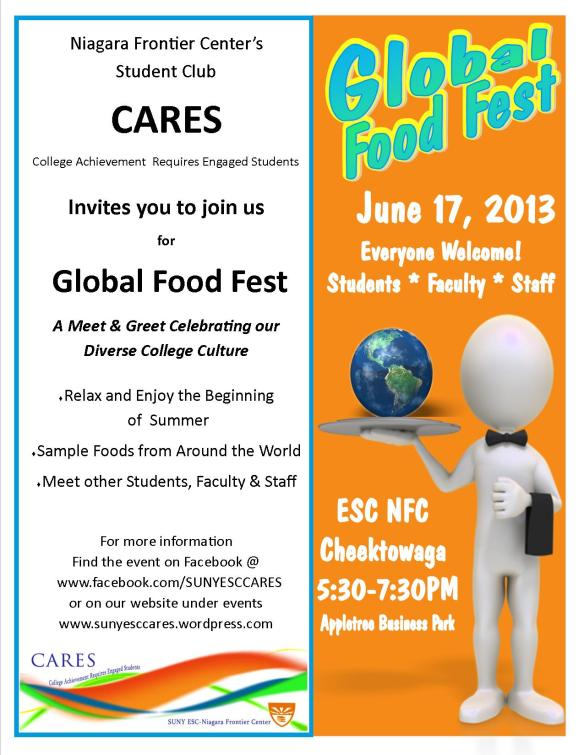 Join Us for a Global Food Fest!
